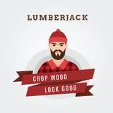 Иллюстрация вектора forester lumberjack бесплатная иллюстрация
