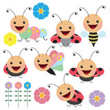 Иллюстрация вектора Ladybug Стоковое Изображение