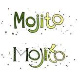 Иллюстрация вектора mojito коктеиля Стоковое фото RF