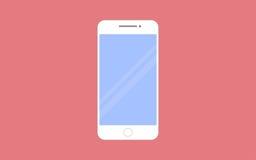 Иллюстрация вектора Smartphone в плоском стиле дизайна бесплатная иллюстрация