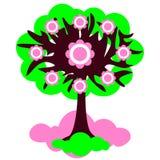 Иллюстрация весны дерева Стоковая Фотография RF