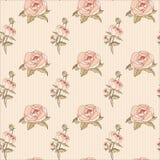 Иллюстрация винтажного безшовного †цветочного узора « Стоковое Фото