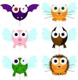 Иллюстрация воздушных шаров животных Стоковые Изображения