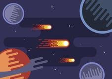Иллюстрация галактики Стоковое фото RF