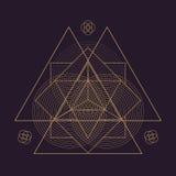 иллюстрация геометрии мандалы вектора священная бесплатная иллюстрация