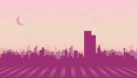 Иллюстрация города Стоковые Фото