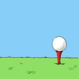 Иллюстрация гольфа Стоковое Изображение