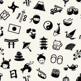 Иллюстрация графического плоского японца дизайна Стоковое Изображение RF