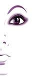 Иллюстрация девушки Стоковая Фотография RF