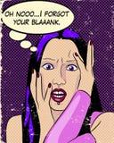Иллюстрация девушки Goth Стоковая Фотография
