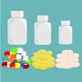 Иллюстрация лекарства Стоковое фото RF