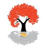 Иллюстрация дерева вектора - символ природы иллюстрация вектора