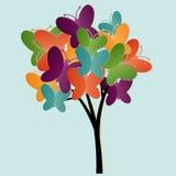 Иллюстрация дерева Стоковые Изображения