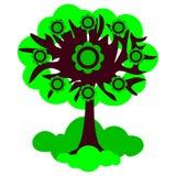 Иллюстрация лета дерева Стоковое Изображение