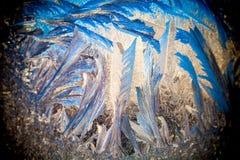 иллюстрация делает по образцу зиму окна вектора Стоковые Изображения RF