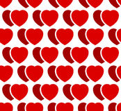 Иллюстрация запаса с мотивом сердца, формой сердца Стоковая Фотография RF