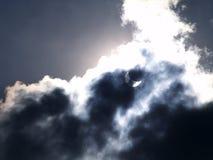 иллюстрация затмения конструкции черноты предпосылки солнечная Стоковые Изображения