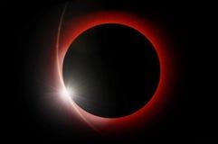 иллюстрация затмения конструкции черноты предпосылки солнечная Стоковые Фото
