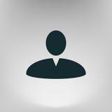 Иллюстрация значка сети профиля пользователя Стоковое фото RF