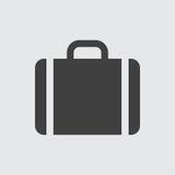 Иллюстрация значка случая стоковые изображения rf