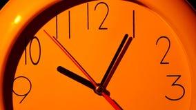 Иллюстрация значка часов вектора конец вверх медленно сток-видео