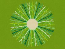 Иллюстрация дизайна предпосылки мандалы акварели бамбуковая восточная Стоковая Фотография
