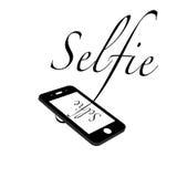 Иллюстрация дизайна Selfie Стоковое Фото