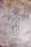 Иллюстрация Иисуса Христоса Стоковое фото RF