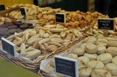иллюстрация иконы хлебопекарни милая французская Стоковые Фотографии RF