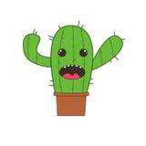 Иллюстрация кактуса Стоковое Изображение RF