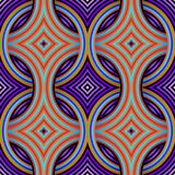 Картина ретро обоев безшовная Стоковое Изображение RF