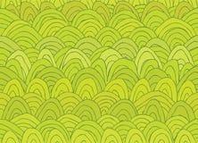 Картина абстрактного ландшафта безшовная Стоковые Фотографии RF