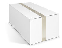 Иллюстрация картонной коробки 3d Стоковое Изображение