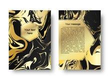 Иллюстрация карточки мраморная Стоковое Фото