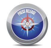 иллюстрация компаса официального сообщения для печати иллюстрация вектора