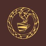 Иллюстрация конспекта графического символа Стоковое Фото