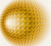 Иллюстрация конспекта дизайна золота Бесплатная Иллюстрация