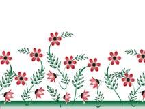 иллюстрация конструкции карточки предпосылки фона флористическая Стоковое Изображение RF