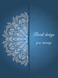 иллюстрация конструкции карточки флористическая ваша Иллюстрация штока