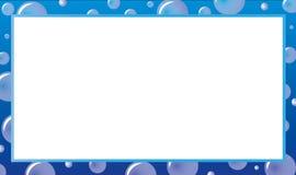 иллюстрация конструкции пузыря предпосылки ваша Стоковое фото RF