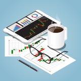 Иллюстрация концепции перерыва на чашку кофе вектора равновеликая бесплатная иллюстрация