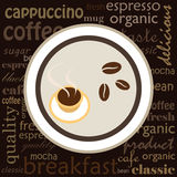 иллюстрация кофе Стоковая Фотография