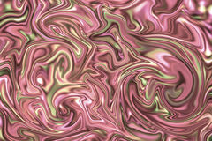 Иллюстрация красных мраморных поверхностных обоев цифровая Текстура агата каменная с бледным - розовая и желтая краска Стоковое Фото