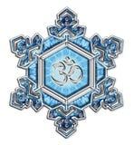 Признательность воды кристаллическая - OM - Emoto Стоковая Фотография