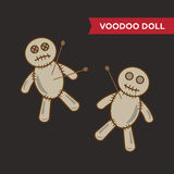Иллюстрация куклы Voodoo Стоковое Изображение