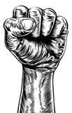 Иллюстрация кулака Стоковая Фотография RF