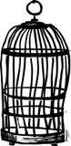 Иллюстрация клетки нарисованная рукой графическая Стоковые Изображения