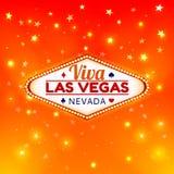 Иллюстрация Лас-Вегас Стоковое Изображение RF