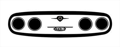 Иллюстрация маски Tatra Стоковое Изображение RF