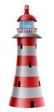 Иллюстрация маяка Стоковые Изображения RF